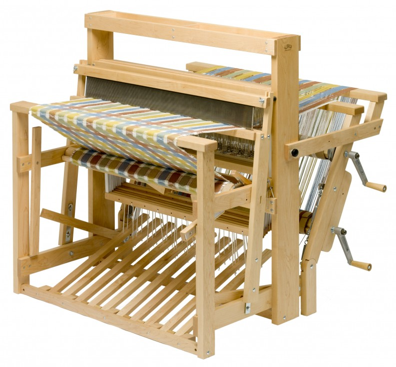 Mighty Wolf Loom 8 Shaft 10 Treadle In Maple Island